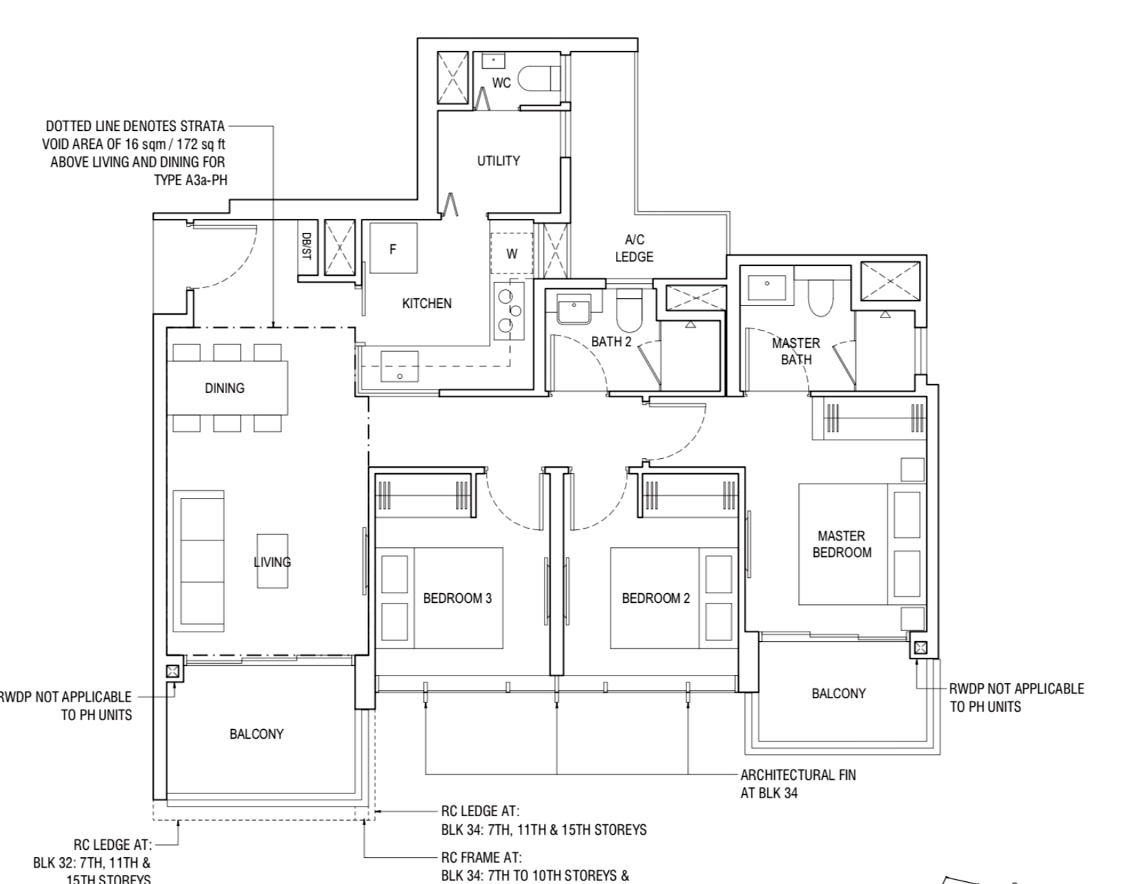 Piermont Grand Typical 3 Bedroom Deluxe