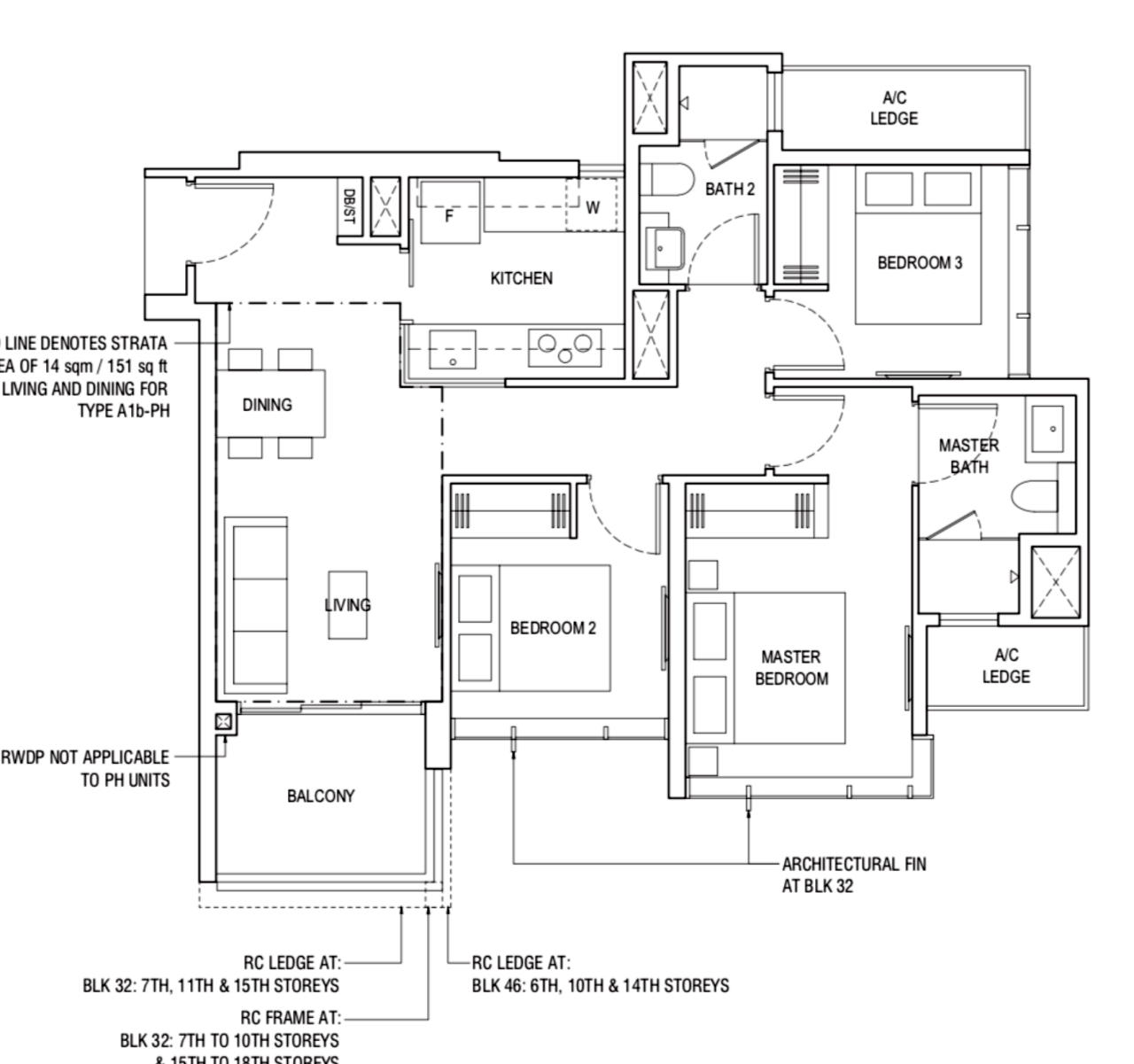 Piermont Grand Typical 3 Bedroom