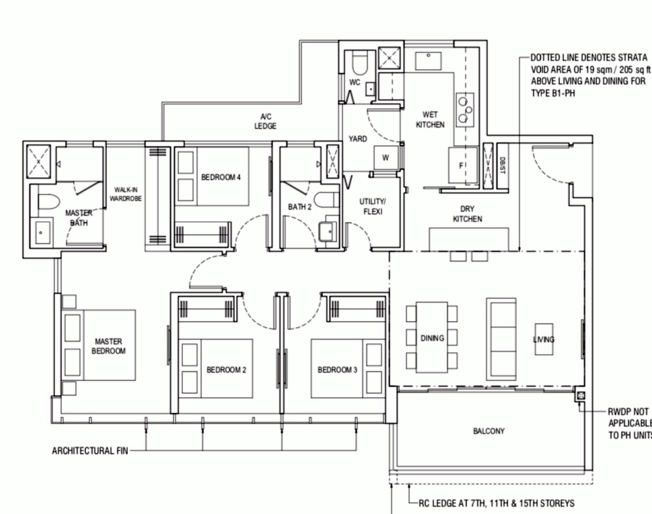 Piermont Grand Typical 4 Bedroom