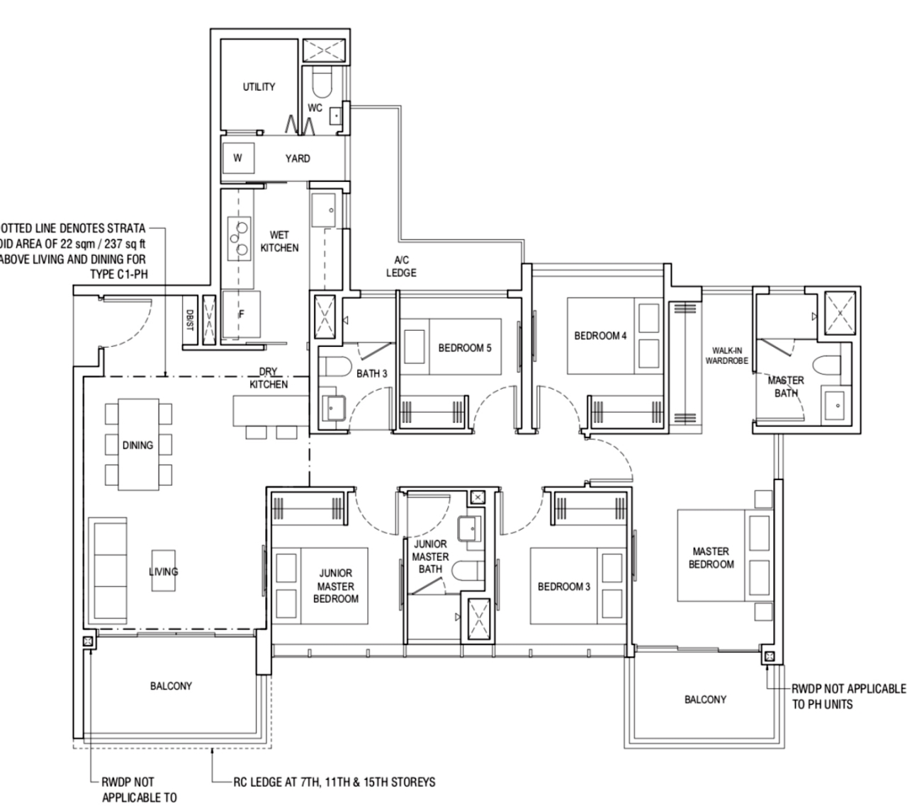Piermont Grand Typical 5 Bedroom