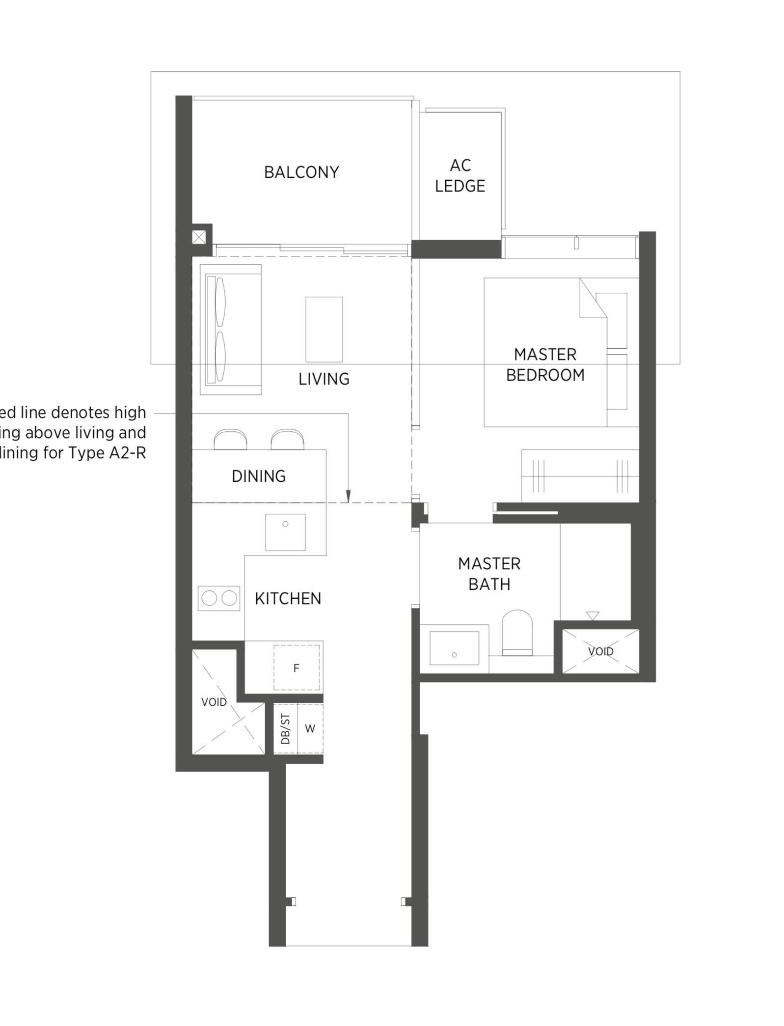 Typical 1 Bedroom