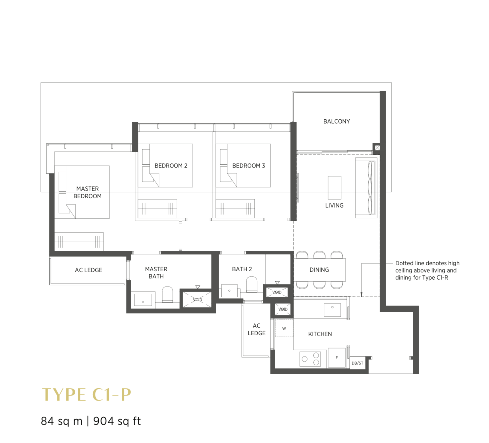 Typical 3 Bedroom