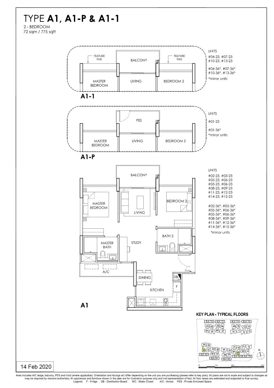 OLA Typical 2 Bedroom